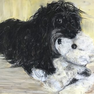 Eigil og bamse er titlen på tegning
